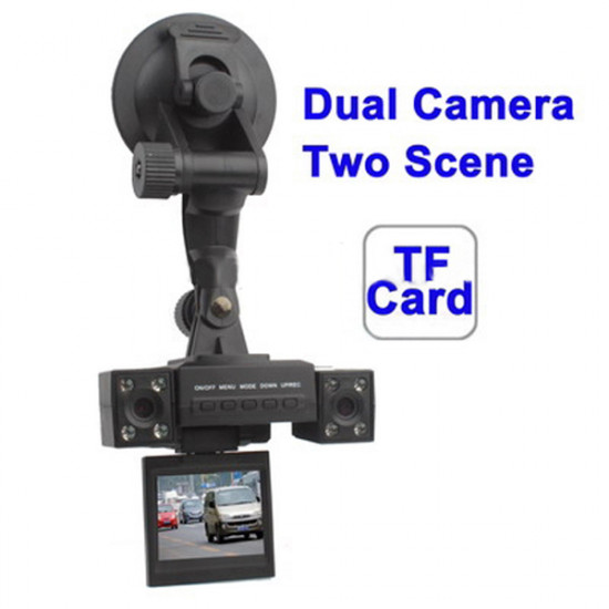 2.0 Inch Car DVR Night Vision Video Recorder with Dual Camera 2021