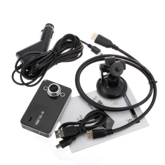 2.7 Inch LCD HD 1080P Car K6000 Dashboard DVR Camera G-sensor 2021