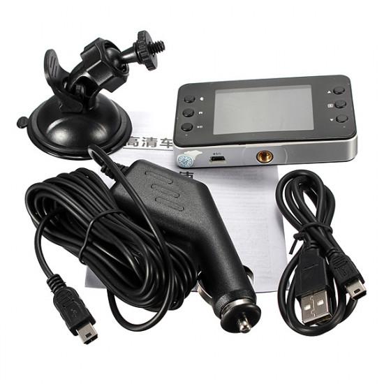 720P Mini Car DVR Video Camera Recorder G-sensor Night Vision K6000 2021