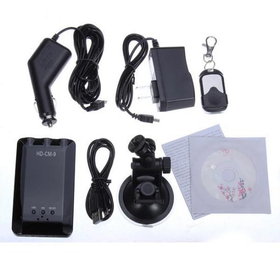 CM-9 Car DVR Recorder Monitor Night Vision Camera Remote Control 2021