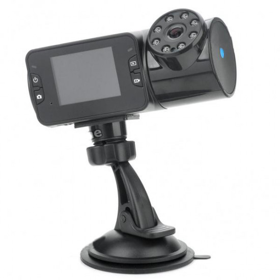 Car DVR 8-IR LED Night Vision  Wide Angle Camcorder 2 Inch TFT LCD 2021