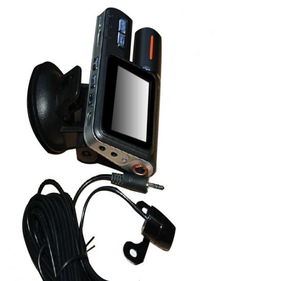 Car HD DVR X2 720P Dual Lens Camera Night Vision Black Box 2021
