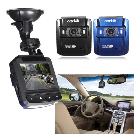 Full HD 1080P Wide Angle Car DVR Vehicle Camera Video Recorder Dash Cam 2021