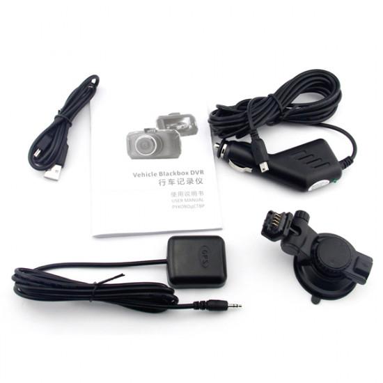 GS90C Ambarella A7LA70 DVR FHD G-Sensor GPS Dash Cam 2021