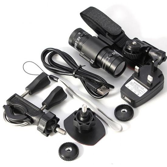 HD 1080P DV Waterproof Sports Camera Helmet Action DVR Digital Video 2021