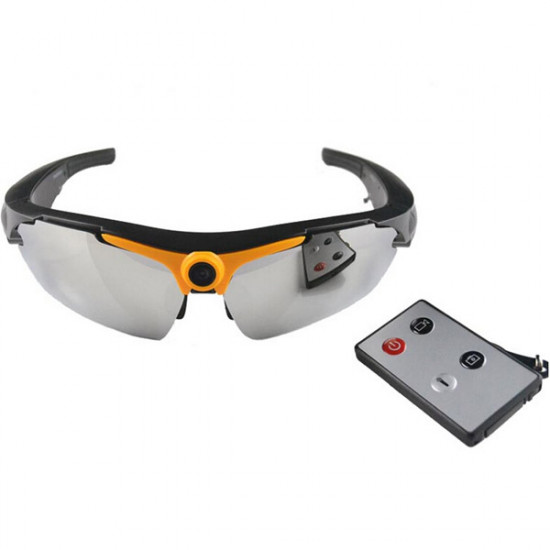 HD 720P Sunglasses DVR 170 Degree Action Cam with Remote Control 2021