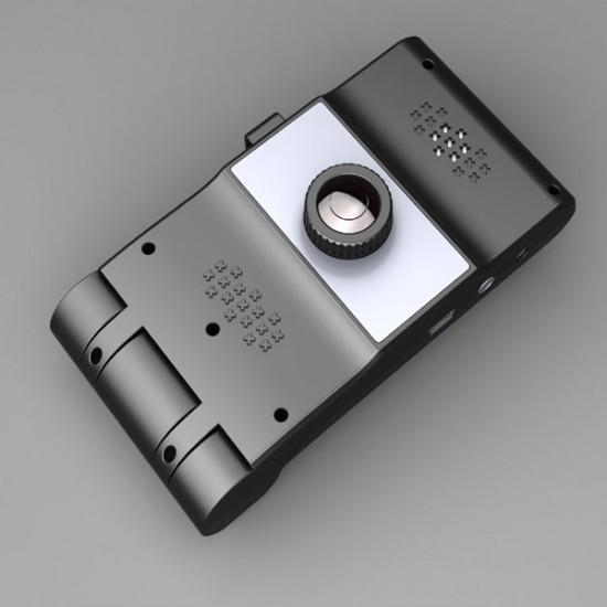 HD Car DV DVR Camera 2.7-inch LCD Double-Channel Auto Video Recorder 2021