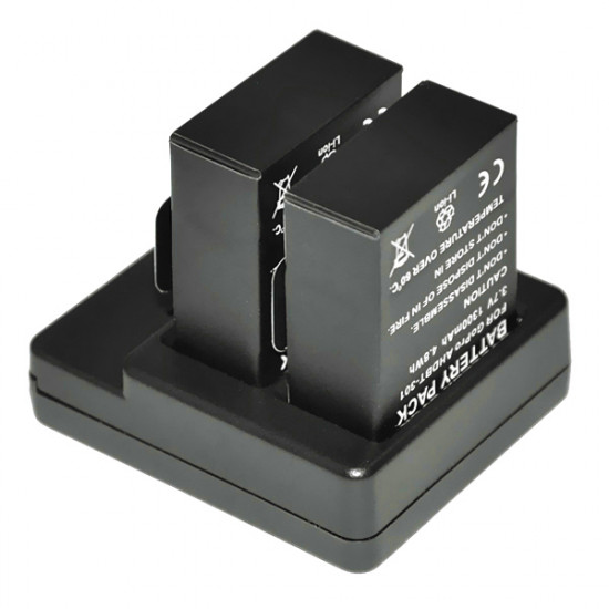 Dual 2 Battery USB Charger For Gopro 3/3+ AHDBT-201/301 2021