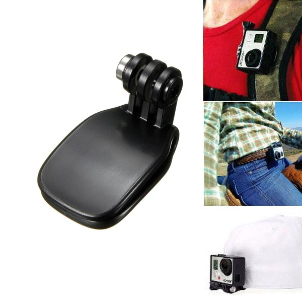 Travel Quick Clip Mount Accessories For Sports Camera GoPro HD Hero 2 3 3+ Photography & Camera Acc