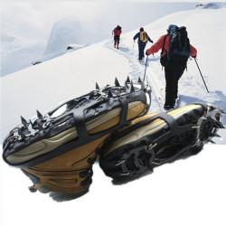 18 Teeth Antislip Ice Snow Shoe Spikes Mountaineering Hiking Crampons