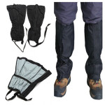 2x Outdoor Waterproof Mountaineering Snow Cover Foot Sleeve Camping & Hiking