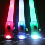 3-in-1 Muitifunction Signal Bars Flashlight Whistle Glow Stick Camping & Hiking