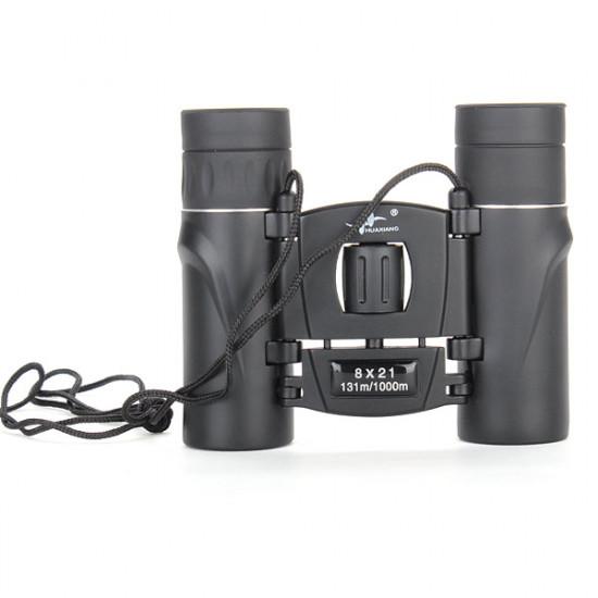 8x21 HD Pocket Binoculars Night Vision Telescope 2021