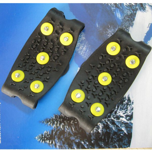 Anti Slip Snow Crampon Snow Ice Grips Climbing Cleats Shoes Studded Camping & Hiking
