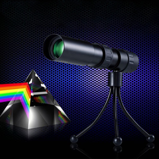 Camping Hiking 10-90 Zoom Optical Lens Monocular Telescope 2021