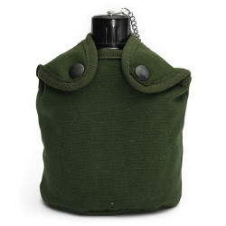 Military Tactical Camping  Aluminum Army Green Cover Canteen Cup