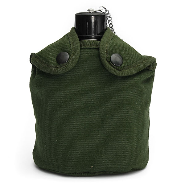 Military Tactical Camping  Aluminum Army Green Cover Canteen Cup Camping & Hiking