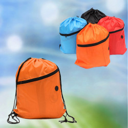 Ourdoor Camping Sports Kids Drawstring Schoolbag Backpack
