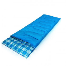 Outdoor Camping Sleeping Bags Travel Cotton Sack Hooded 1.4KG
