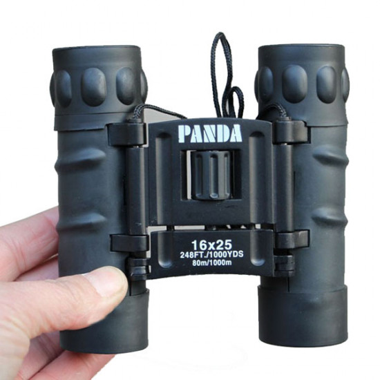 PANDA 16X25 Zoom HD Blue Membrane Binoculars Tourism Telescope 2021