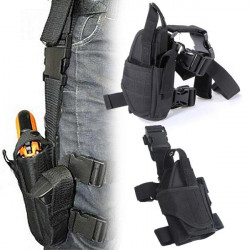 Tactical Adjustable Outdoor Hunting Waterproof Puttee Leg Pouch
