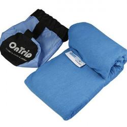 Travel Sleeping Bag Liner Envelope Style Coolmax Material Sleeping Bag