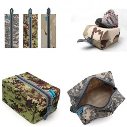Waterproof Camo Traveling Gym Laundry Shoes Storage Bag Pouch