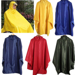 Windproof Hooded Cycling Bike Bicycle Raincoat