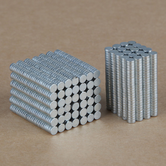 100PCS 3mm x 1mm N35 Rare Earth Neodymium Super Strong Magnets 2021