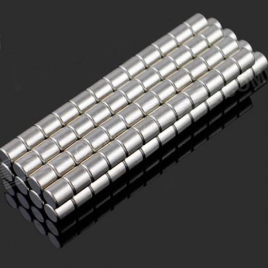 100 Piece 3 x 3mm NdFeB Neodymium Magnet Circular Cylinder DIY Set 2021