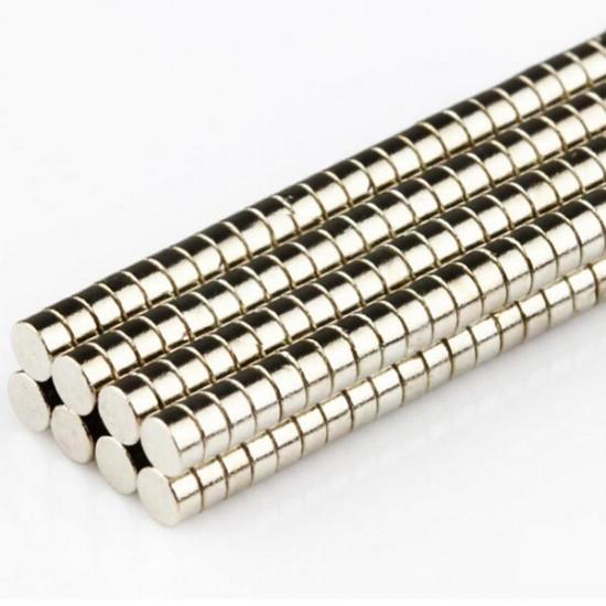 100pcs N50 2mm x 1mm Round Magnets Rare Earth Neodymium NdFeB 2021