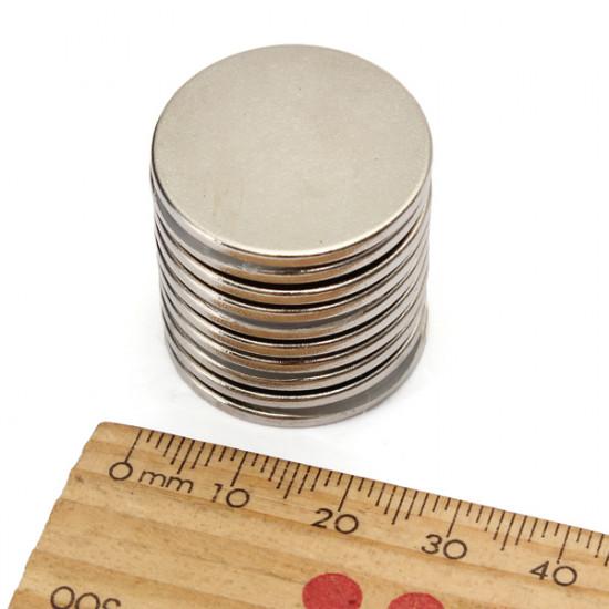 10PCS 25x2mm N35 Strong Round Rare Earth Neodymium Magnet 2021