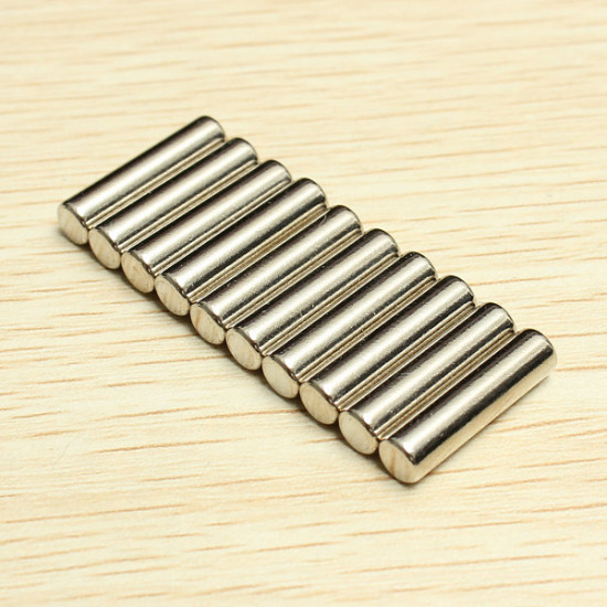 10PCS D4mmx16mm N42 Round Neodymium Magnets Rare Earth Magnet 2021