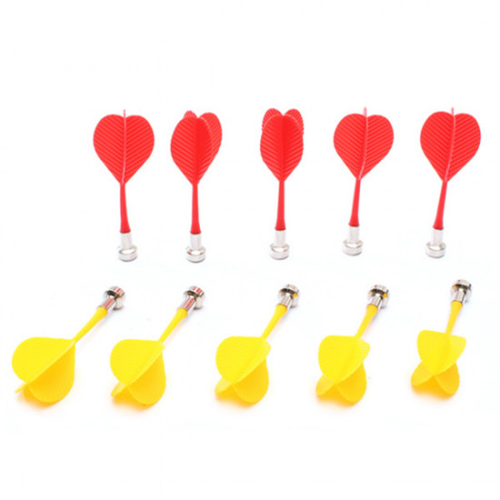 10PCS Double-sided Magnetic Safe Darts Bullseye Target Game Toy 2021