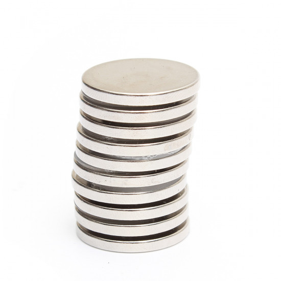 10PCS N52 25mmx3mm Round Neodymium Magnets Rare Earth Magnet 2021