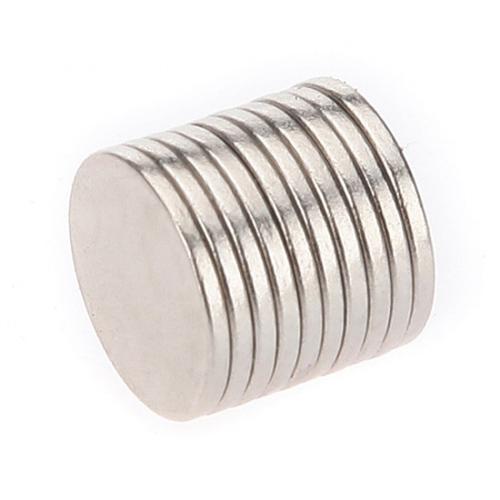 10PCS Super Strong Rare-Earth RE Magnets 10mm x 1mm 2021