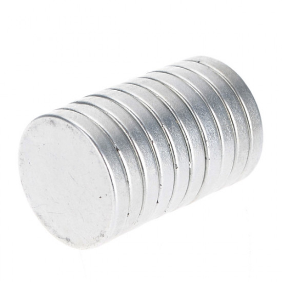 10Pcs N35 20mmx3mm Disc Strong Rare Earth Neodymium Magnets 2021