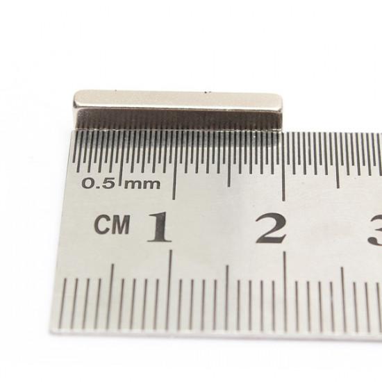 10pcs Block Super Strong Cuboid Magnets Rare Earth Neodymium 20x5x3mm 2021