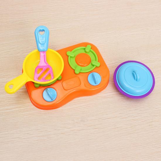 10pcs/set Educational DIY Play Toy Child Kitchen Toys Set Classic Toys 2021