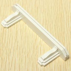 1:12 Dollhouse Miniature Wooden Furniture Bedroom Small White Shelf