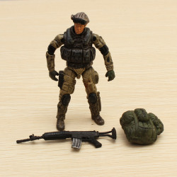 1:18 Special Forces Soldier Model GI Movable Joints Action Figure