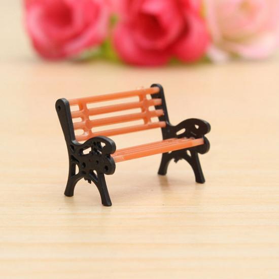 1:30 Bench Chair Settee Garden Park Layout Scenery Railway 2021