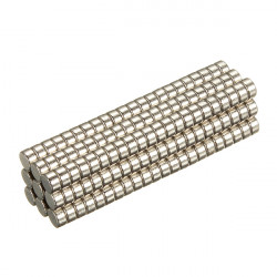 200pcs 2x1mm Disc Rare Earth Neodymium Magnets N35 Craft Model