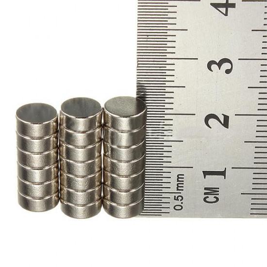 20 PCS Rare Earth Neodymium Magnets N50 7mm Diameter x 3mm Thickness 2021