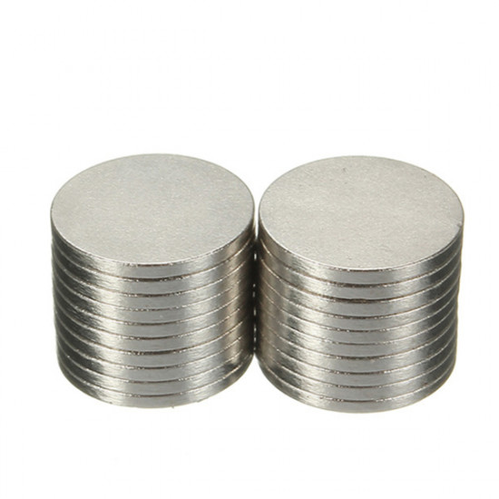 20PCS Strong 10x1mm N50 Disc Round Rare Earth Neodymium Magnets 2021