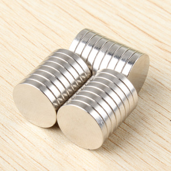 25pcs D12x2mm N52 Neodymium Magnets Rare Earth Strong Magnet 2021