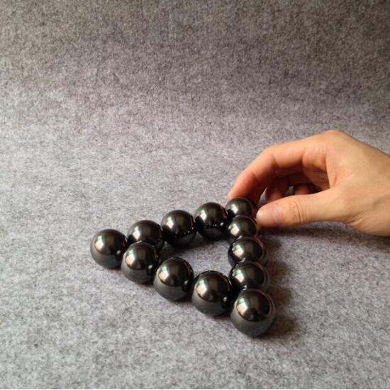 2PCS Round Powerful Magnet Balls Ferrite Large Ball 2021