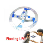 2PCS Suspended UFO Floated Gyro Close-up Magic Props Game & Scenery Toy