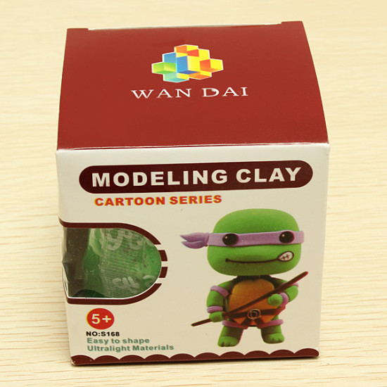 3D Colorful Paper Clay Mud Children's Educational Toys Plasticine 2021