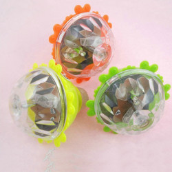 3PCS Children Luminous Spinning Top Flash Screw Rotating Toys